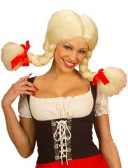 Schoolgirl/Dutch Heidi Plait Wig